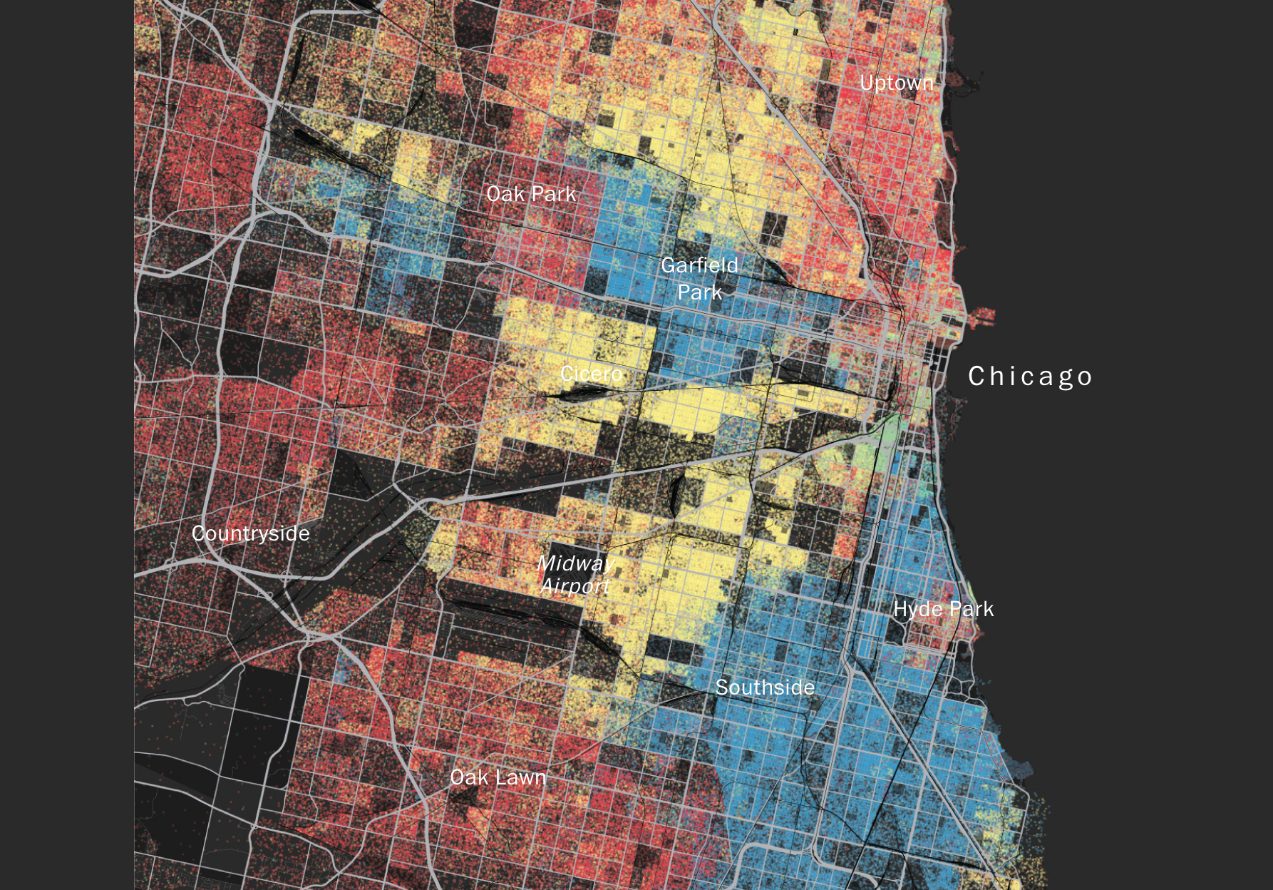Mapping Segregation via Washington Post